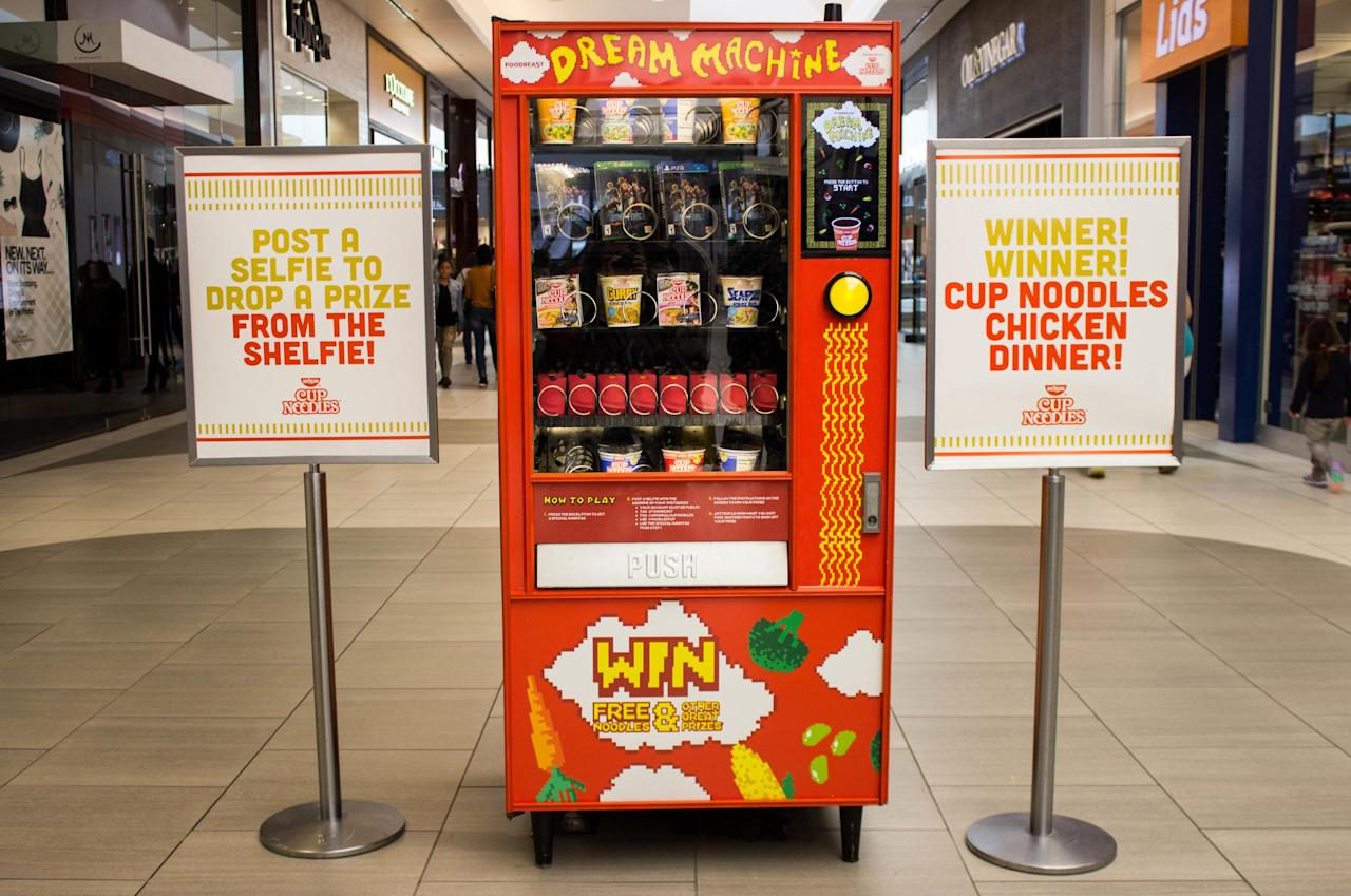 You Can Buy Cup Noodles From a Vending Machine, Using ...