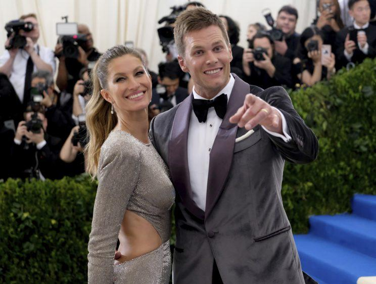 Tom Brady and wife Gisele Bundchen have been married since 2009. (AP)