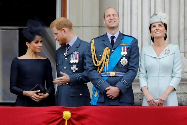 Prince Harry acknowledged his relationship with his brother Prince William has 'good days' and 'bad days' (AFP Photo/Tolga AKMEN)