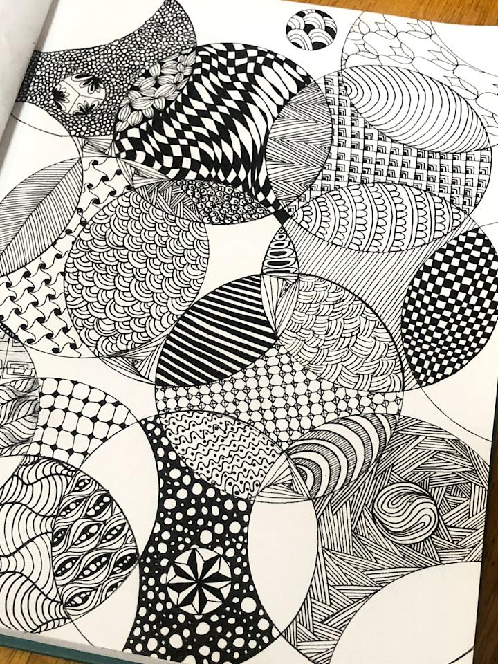 """<p><a href=""""https://zentangle.com/pages/what-is-the-zentangle-method"""" target=""""_blank"""" class=""""ga-track"""" data-ga-category=""""Related"""" data-ga-label=""""https://zentangle.com/pages/what-is-the-zentangle-method"""" data-ga-action=""""In-Line Links"""">Zentangle</a> was created in 2003 by Rick Roberts who had practiced meditation for many years, and Maria Thomas, an artist. They combined their insight and talents to create this fascinating method of drawing easy-to-learn, relaxing, structured patterns, which are called tangles.</p> <p>Zentangle art is spontaneous and free-flowing so you can focus on each stroke and not worry about the result. Think of it as meditative doodling. You can learn different tangles and string them together to create detailed drawings on small squares of paper called tiles. You can move beyond these small tiles and get creative with bigger drawings or different shapes.</p> <p>The most important thing to mention is that you don't need to be artistic or good at drawing. You need no prior art experience at all, just the willingness to try! The patterns may look complicated but once they're broken down and you learn how to do them step by step, you'll see how simple and easy Zentangle is. There are <a href=""""https://zentangle.com/pages/how-does-the-zentangle-method-work"""" target=""""_blank"""" class=""""ga-track"""" data-ga-category=""""Related"""" data-ga-label=""""https://zentangle.com/pages/how-does-the-zentangle-method-work"""" data-ga-action=""""In-Line Links"""">no mistakes in Zentangle!</a></p>"""