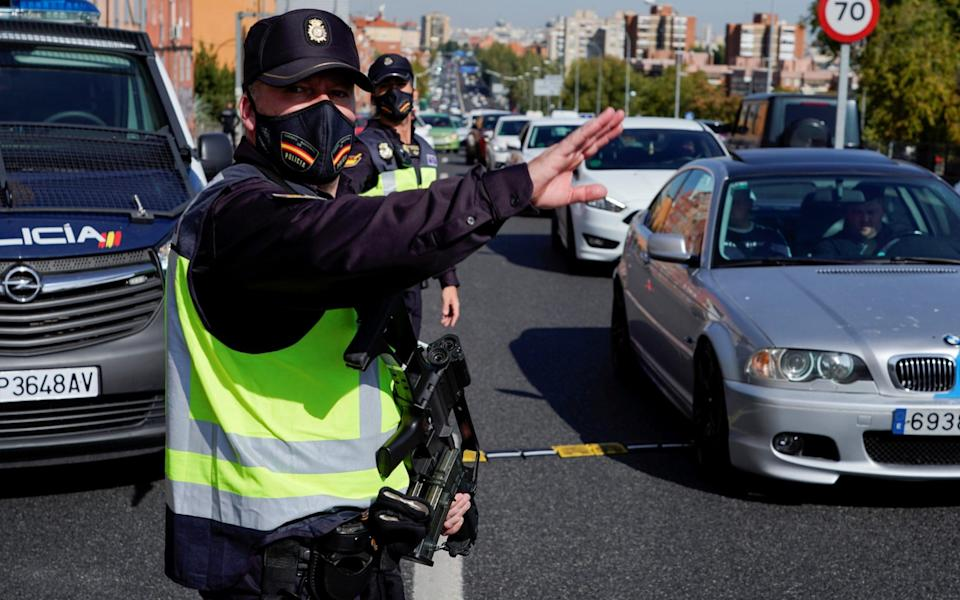Spain is set to impose a new swathe of Covid restrictions - Reuters