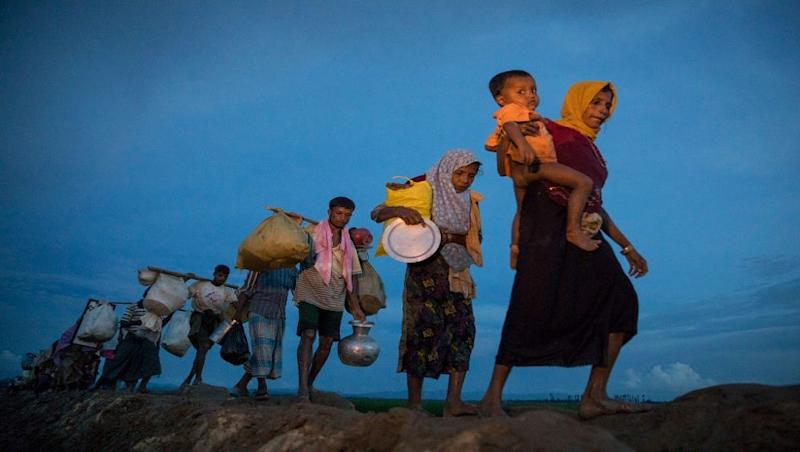 Bangladesh to Move 100,000 Rohingya Refugees to Island from Next Month