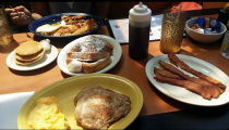 "<p>This greasy spoon diner pulls in a wide crows with their tasty menu and quintessential diner feel. Patrons of <a href=""http://cliquerestaurant.restaurantwebexpert.com/"" rel=""nofollow noopener"" target=""_blank"" data-ylk=""slk:Clique"" class=""link rapid-noclick-resp"">Clique</a> rave about the restaurant's silver dollar pancakes, so you'll definitely want to check those out. </p><p><em><a href=""https://www.facebook.com/The-Clique-Diner-676755336049570/"" rel=""nofollow noopener"" target=""_blank"" data-ylk=""slk:Check out Clique on Facebook."" class=""link rapid-noclick-resp"">Check out Clique on Facebook.</a></em> </p>"