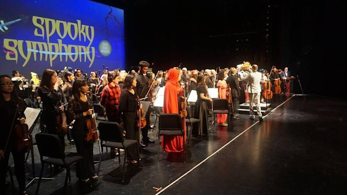 Alhambra Orchestra and the Greater Miami Youth Symphony team up for a night of creepy classical music.