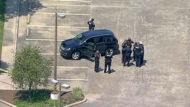 PHOTO: Police respond to a shooting in Harris County, Texas, April 26, 2019. (KTRK)