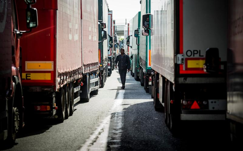 Migrants desperate to cross borders go to great lengths by hiding in refrigerated lorries (file photos) - laurent villeret/ dolce vita