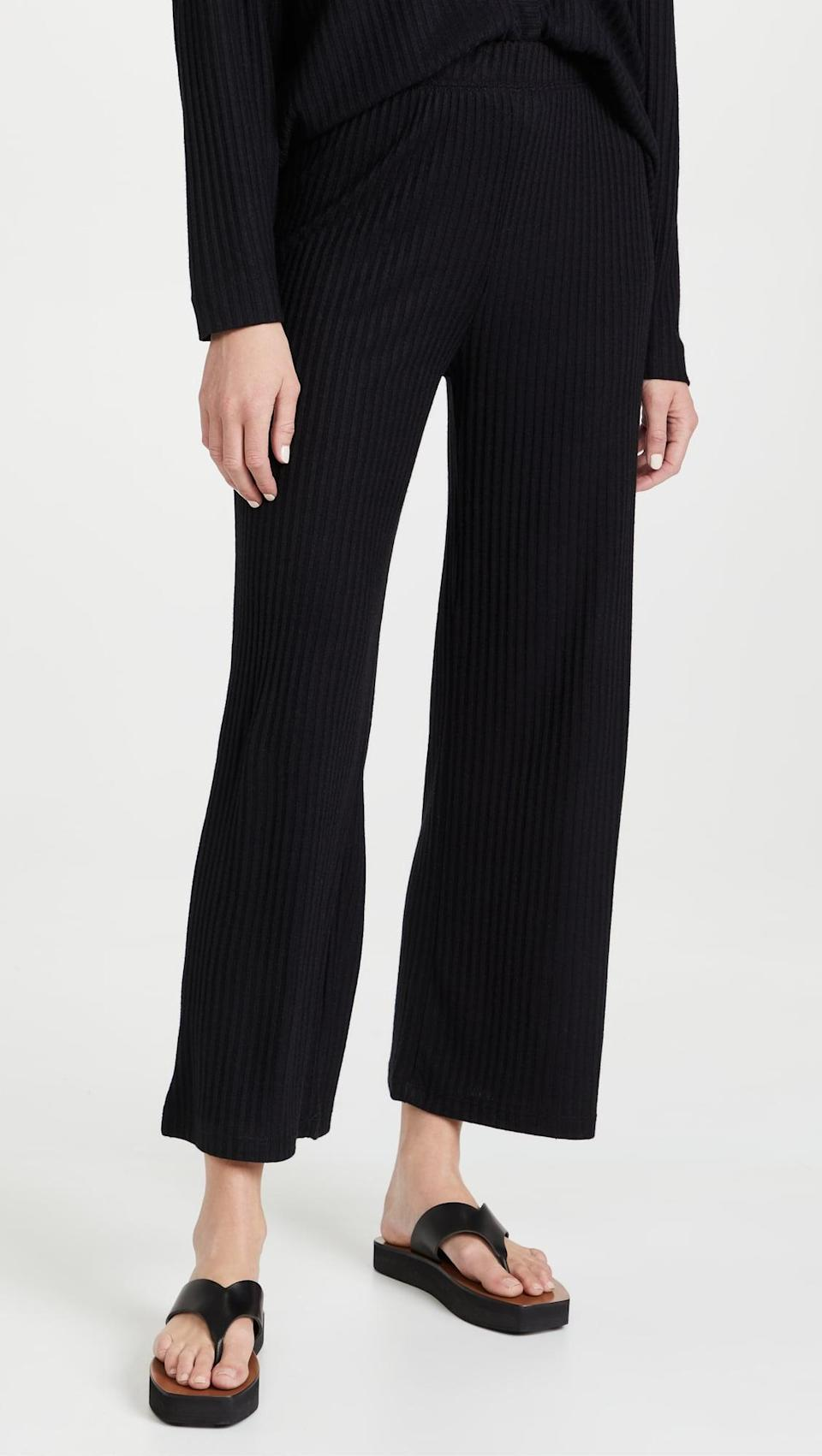 <p>We're fans of pants that feel like sweats, but don't really look like it. Get the <span>Z Supply Geri Sweatpants</span> ($72) to wear for the days you just want to be comfy.</p>