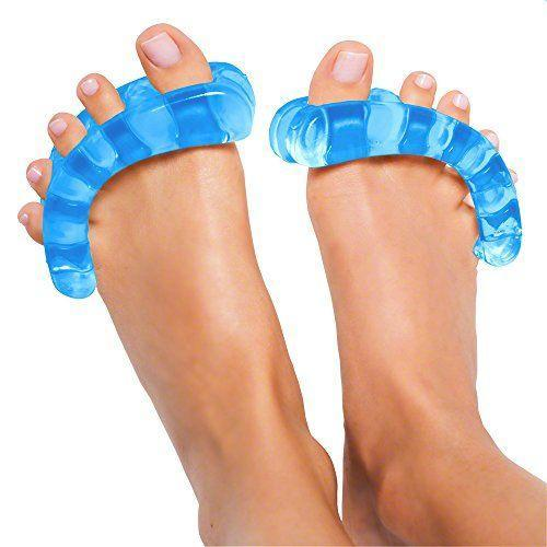 "<p><strong>Yoga Toes</strong></p><p>amazon.com</p><p><strong>$36.95</strong></p><p><a href=""https://www.amazon.com/dp/B002SPV068?tag=syn-yahoo-20&ascsubtag=%5Bartid%7C2089.g.362%5Bsrc%7Cyahoo-us"" rel=""nofollow noopener"" target=""_blank"" data-ylk=""slk:Shop Now"" class=""link rapid-noclick-resp"">Shop Now</a></p><p>No one ever pays any attention to working out their feet, but considering how much time we spend on them, they need a little love, too. And since endurance, balance, and mobility all depend on toes that actually do their job right, any fitness addict will appreciate the stretch and strengthening that comes from these little gel separators. </p>"