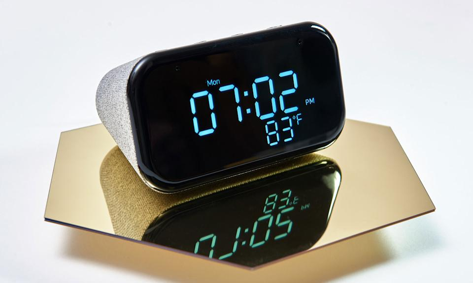 Holiday Gift Guide: Lenovo Smart Clock Essential