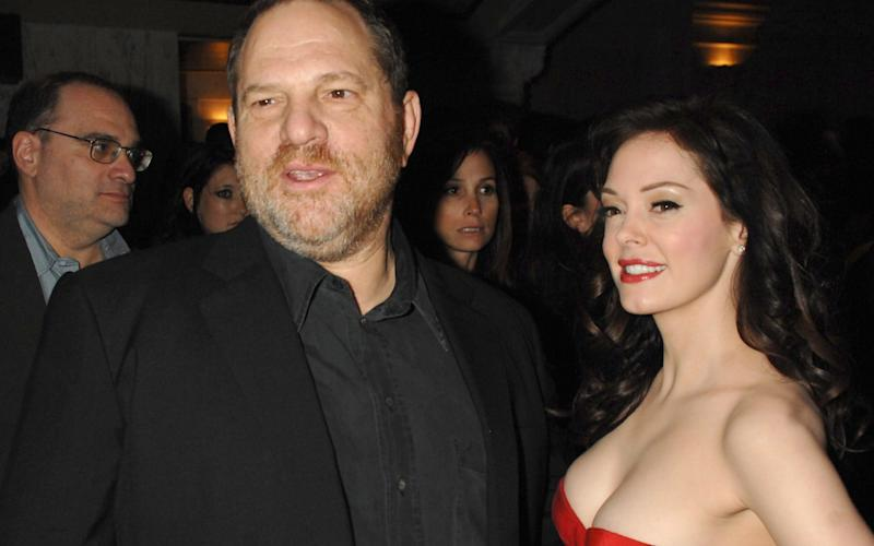 Harvey Weinstein and Rose McGowan - FilmMagic, Inc