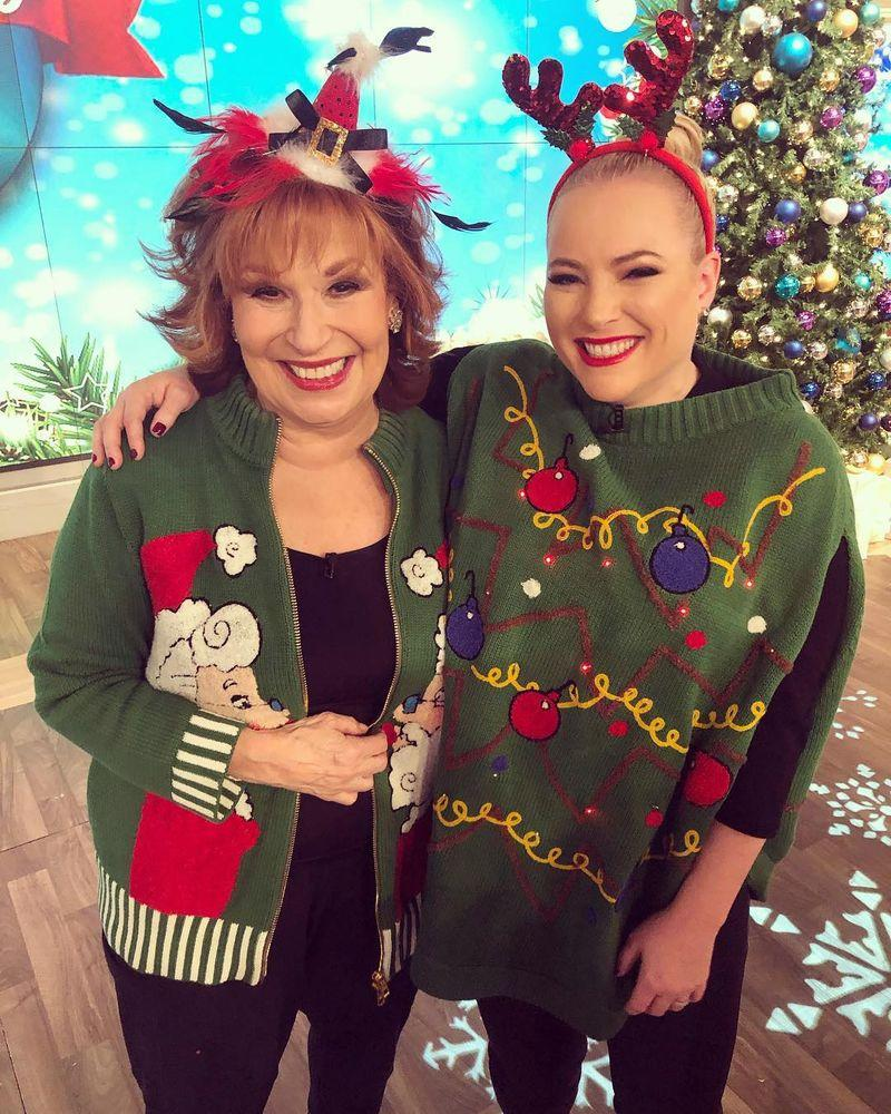 Meghan Mccain The View Joy Behar: Meghan McCain Hugs Joy Behar On The View: 'We'll Fight