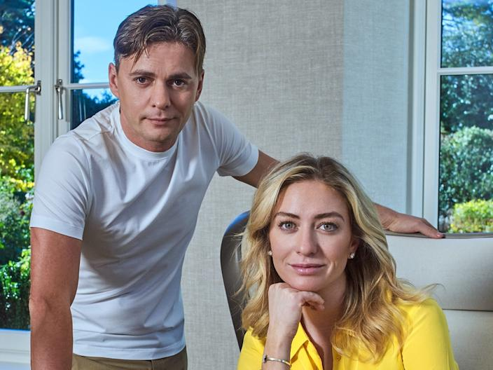 "Andrey Andreev and Whitney Wolfe Herd. <p class=""copyright"">Magic Lab</p>"