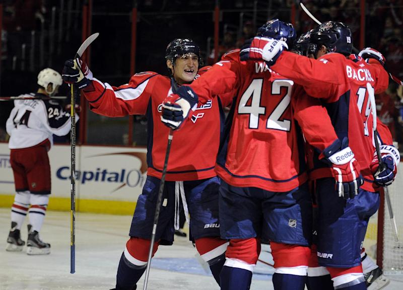 Holtby, Capitals defeat Blue Jackets 4-1