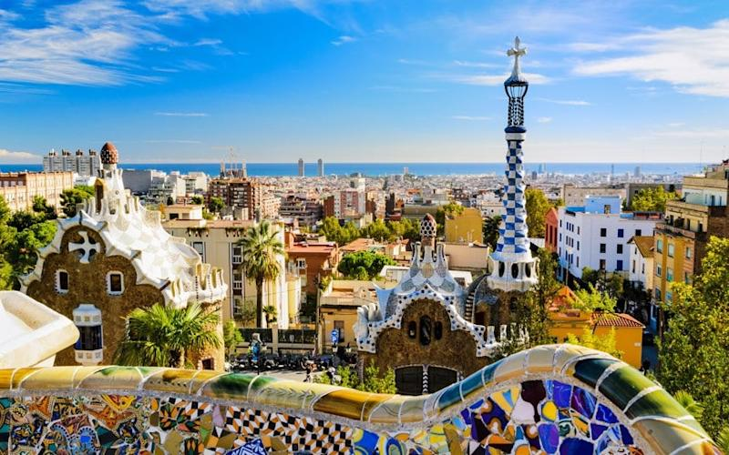 There is much to explore in Barcelona, not least the beautiful Park Guell