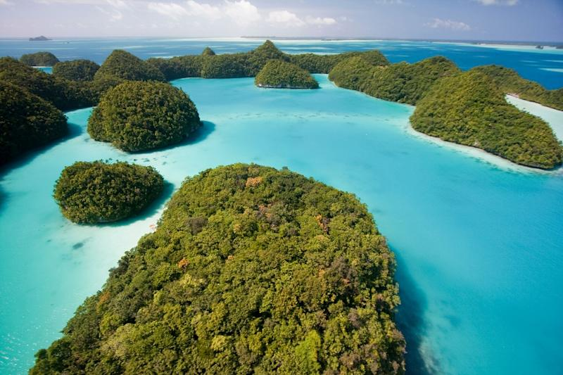 The tiny Pacific island of Palau has a population of about 18,000 people