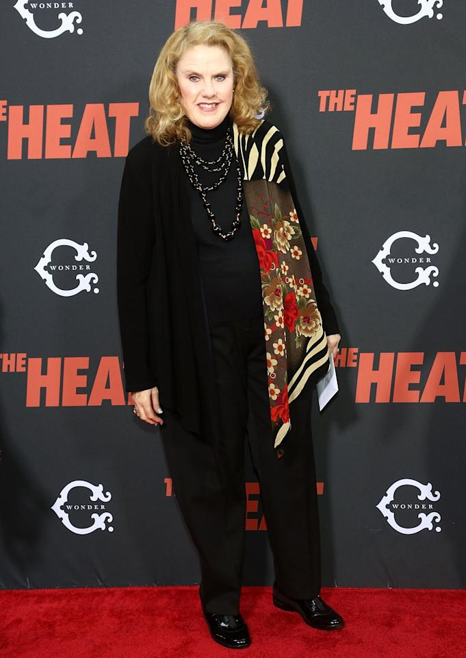 "NEW YORK, NY - JUNE 23: Celia Weston attends ""The Heat"" New York Premiere at Ziegfeld Theatre on June 23, 2013 in New York City. (Photo by Astrid Stawiarz/Getty Images)"