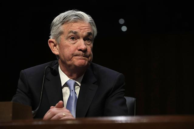 New Fed chair Jerome Powell will speak before lawmakers for the first time since his swearing in on Tuesday.