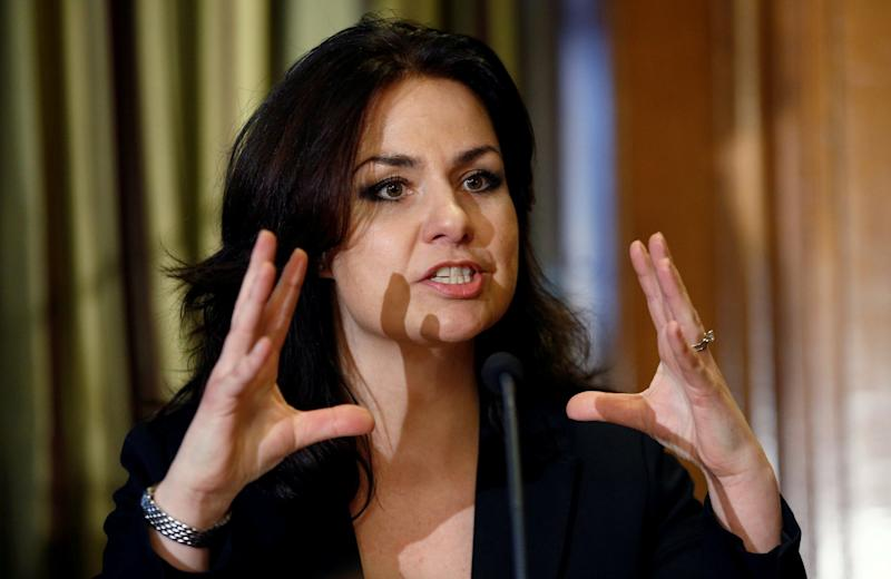 Heidi Allen interviewed Mr Sadjady for the candidacy. (REUTERS)