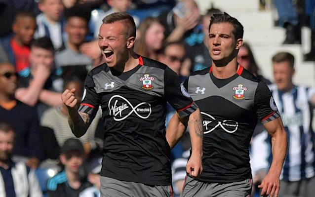 Jordy Clasie scored the only goal of the game at The Hawthorns - REUTERS