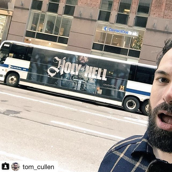 <p>It's #Knightfall premiere day! I'm taking over @yahooentertainment's Instagram to celebrate. Follow along for choice behind-the-scenes shots. Nudity warning! ⚔️ @knightfallshow #Knightfall #HISTORY — @tom_cullen<br>(Photo: Instagram) </p>