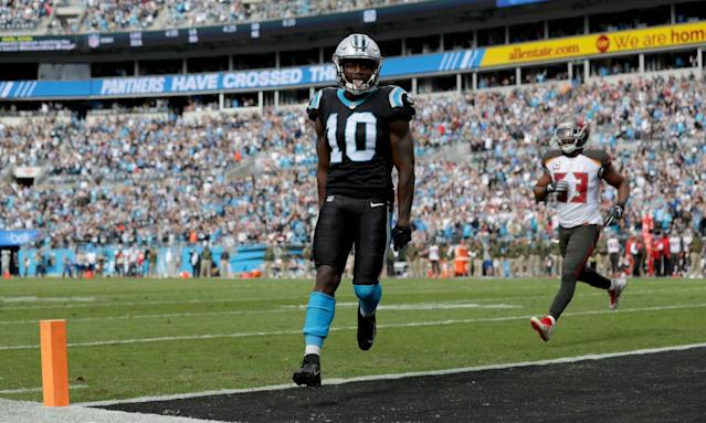 Curtis Samuel earned this touchdown. (Getty)