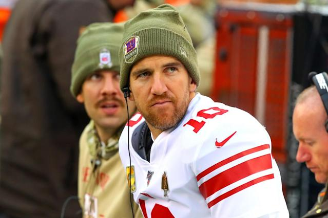 There is no way for Giants to salvage the Eli Manning farewell