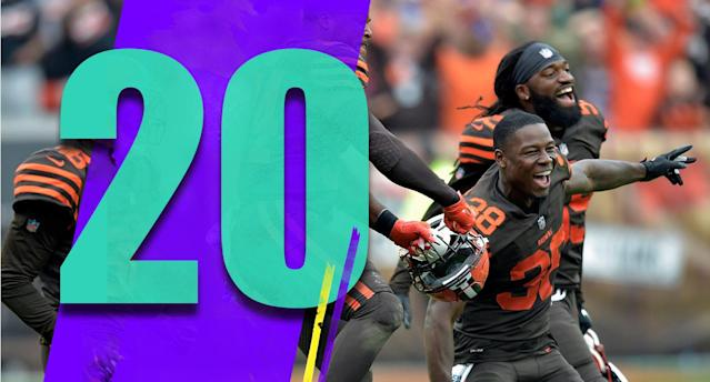 <p>The Browns are legitimately a handful of plays from being 5-0. Really. (T.J. Carrie) </p>