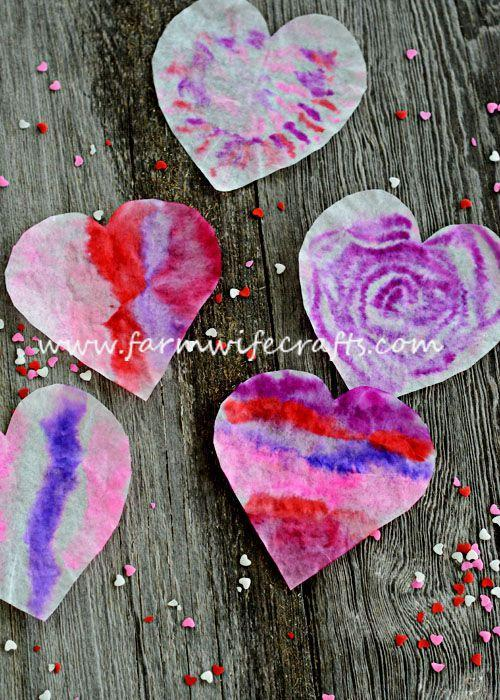 """<p>Only four household items make up these delicate hearts that will look beautiful hanging in windows around your home.</p><p><strong>Get the tutorial at <a href=""""https://www.farmwifecrafts.com/coffee-filter-heart-sunatchers/"""" rel=""""nofollow noopener"""" target=""""_blank"""" data-ylk=""""slk:The Farmwife Crafts"""" class=""""link rapid-noclick-resp"""">The Farmwife Crafts</a>.</strong></p><p><a class=""""link rapid-noclick-resp"""" href=""""https://www.amazon.com/Nicole-Home-Collection-02083-Filters/dp/B07G1NZTDJ/ref=sr_1_1_sspa?tag=syn-yahoo-20&ascsubtag=%5Bartid%7C10050.g.1584%5Bsrc%7Cyahoo-us"""" rel=""""nofollow noopener"""" target=""""_blank"""" data-ylk=""""slk:SHOP COFFEE FILTERS"""">SHOP COFFEE FILTERS</a></p>"""