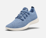 """<p><strong>Allbirds</strong></p><p>allbirds.com</p><p><strong>$95.00</strong></p><p><a href=""""https://www.allbirds.com/products/womens-wool-runners"""" rel=""""nofollow noopener"""" target=""""_blank"""" data-ylk=""""slk:Shop Now"""" class=""""link rapid-noclick-resp"""">Shop Now</a></p><p>These cushy, washable <a href=""""https://www.goodhousekeeping.com/health-products/g26960479/best-walking-shoes-for-women/"""" rel=""""nofollow noopener"""" target=""""_blank"""" data-ylk=""""slk:walking shoes"""" class=""""link rapid-noclick-resp"""">walking shoes</a> resist odor and sweat. Even Jennifer Garner and Mila Kunis have stepped out in the """"world's most comfortable shoe."""" </p>"""