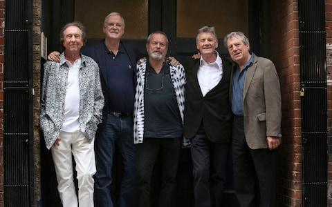 The remaining members of the group have paid tribute to Terry Jones - Credit: Philip Toscano/PA