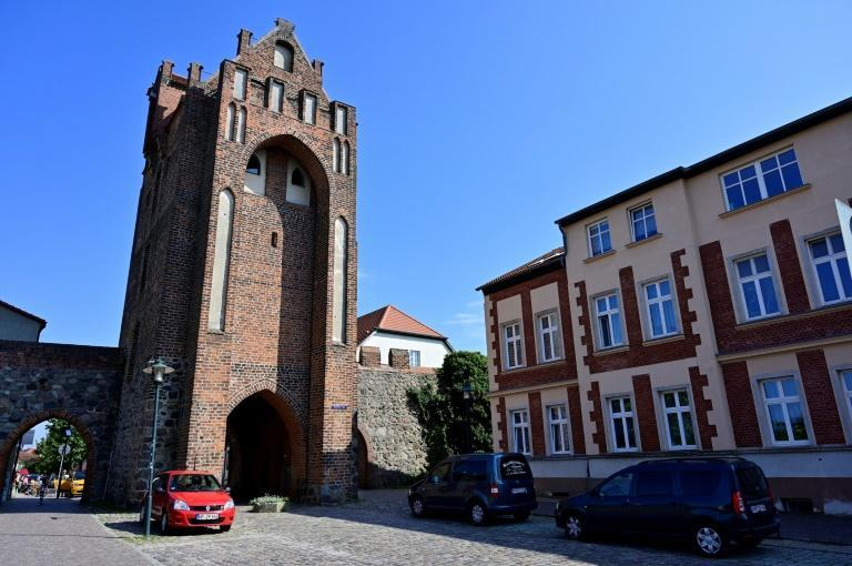 The picturesque town of Templin is where Angela Merkel grew up and has served as a sanctuary through her 16 crisis-racked years in power (AFP/John MACDOUGALL)