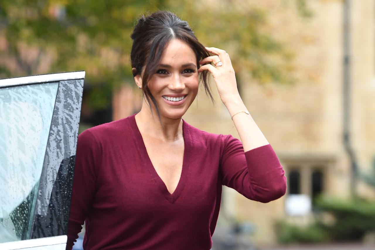 """<p>Meghan Markle and Prince Harry are the new hot royal couple on the block (sorry Wills and Kate), since their incredible Royal Wedding back in May and that <a href=""""https://www.cosmopolitan.com/uk/fashion/celebrity/a20059158/meghan-markle-wedding-dress/"""" target=""""_blank"""">Givenchy dress</a>. </p><p>The Duchess of Sussex has proved she's not afraid to break the <a href=""""http://www.cosmopolitan.com/uk/fashion/news/a44015/kate-middleton-hemline-dress-above-knee-queens-rules/"""" target=""""_blank"""">Queen's style rules</a> (that <a href=""""http://www.cosmopolitan.com/uk/fashion/celebrity/a14477209/meghan-markle-broke-queens-style-rule-official-engagement-picture/"""" target=""""_blank"""">engagement outfit</a> though) and give the royal family a thoroughly modern makeover. </p><p>Since becoming an official royal, Meghan has championed smaller brands.  Both the <a href=""""http://www.cosmopolitan.com/uk/fashion/celebrity/a13935691/meghan-markle-white-coat-engagement-announcement/"""" target=""""_blank"""">white coat</a> she wore for her official engagement announcement from Canadian brand Line the Label and her <a href=""""http://www.cosmopolitan.com/uk/fashion/celebrity/a13998822/meghan-markle-strathberry-handbag-sells-out/"""" target=""""_blank"""">burgundy bag</a> from Edinburgh brand Strathberry sold out in minutes. Plus who can forget her Stella McCartney slinky <a href=""""https://www.cosmopolitan.com/uk/fashion/celebrity/a19847955/meghan-markle-second-wedding-dress/"""" target=""""_blank"""">wedding reception dress</a>.</p><p>Take a look through her style file to see why Meghan's wardrobe is the one we all want to raid...</p>"""