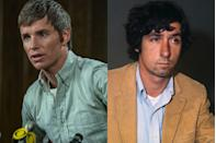 """<p>Oscar-winning actor Eddie Redmayne takes on the part of Tom Hayden, another one of the trial's defendants. Hayden was an activist and writer, known for cofounding the Students for a Democratic Society (SDS). (And yes, he's also known for <a href=""""https://www.townandcountrymag.com/leisure/g32757042/jane-fonda-young/"""" rel=""""nofollow noopener"""" target=""""_blank"""" data-ylk=""""slk:his marriage to Jane Fonda"""" class=""""link rapid-noclick-resp"""">his marriage to Jane Fonda</a>.)</p>"""