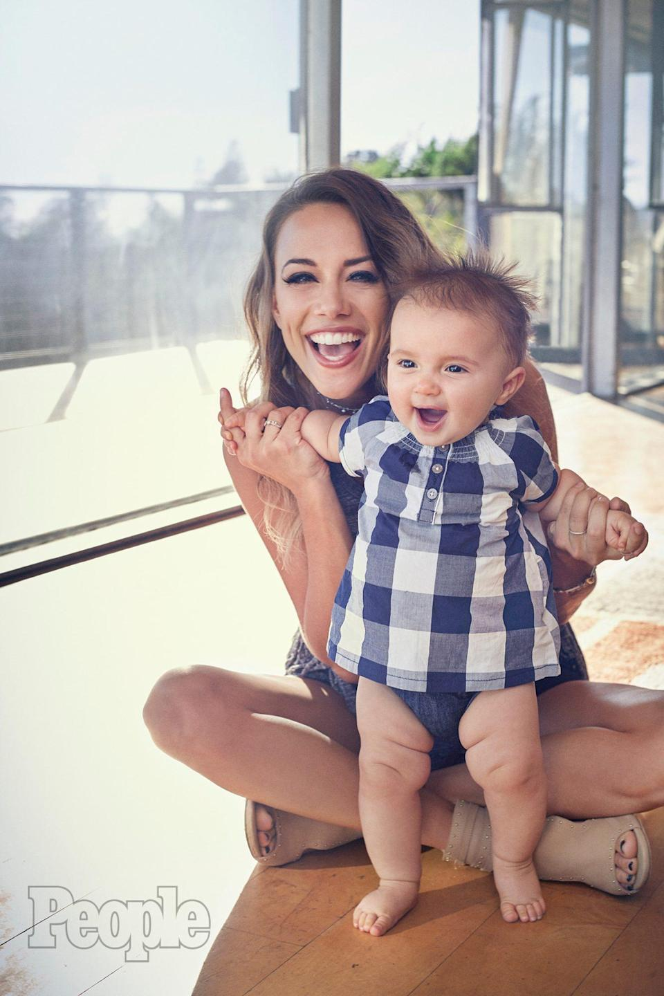 """<p>In August 2016, the couple announced they were <a href=""""https://people.com/country/jana-kramer-separates-from-mike-caussin-as-he-enters-rehab/"""" rel=""""nofollow noopener"""" target=""""_blank"""" data-ylk=""""slk:separating"""" class=""""link rapid-noclick-resp"""">separating</a> as Caussin entered treatment for undisclosed reasons — later revealed to be <a href=""""https://people.com/country/jana-kramer-mike-caussin-sex-addiction-relapses/"""" rel=""""nofollow noopener"""" target=""""_blank"""" data-ylk=""""slk:sex addiction"""" class=""""link rapid-noclick-resp"""">sex addiction</a> — at a rehabilitation center.</p> <p>""""This has been difficult for Jana but her priority is being there for Jolie,"""" a source close to Kramer told PEOPLE at the time. </p> <p>In October of that year, Kramer revealed to PEOPLE that they <a href=""""https://people.com/country/jana-kramer-mike-caussin-apologizes-cheating/"""" rel=""""nofollow noopener"""" target=""""_blank"""" data-ylk=""""slk:separated because of Caussin's infidelity"""" class=""""link rapid-noclick-resp"""">separated because of Caussin's infidelity</a>. </p> <p>""""Mike was the biggest of the betrayals because it was the first time in a relationship where I truly loved the version of me,"""" she said. """"I didn't feel I had to prove that I was good enough, I was vulnerable and finally at peace with myself. But I was fooled.""""</p> <p>For his part, Caussin told PEOPLE in a statement: """"I acknowledge that certain actions and behaviors have caused issues in my marriage and I am deeply sorry for the pain I have caused Jana. I have and will continue to take the steps needed to change who I am as a person in order to be a better husband and father.""""</p> <p>In September 2020, Kramer revealed that during this time, Caussin had <a href=""""https://people.com/country/jana-kramer-says-husband-mike-caussin-filed-for-divorce-when-rehab-she-was-on-dwts/"""" rel=""""nofollow noopener"""" target=""""_blank"""" data-ylk=""""slk:filed for divorce"""" class=""""link rapid-noclick-resp"""">filed for divorce</a>. </p>"""