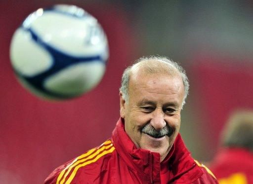 Vicente Del Bosque took over as Spain coach after the Euro 2008 tournament in Austria and Switzerland