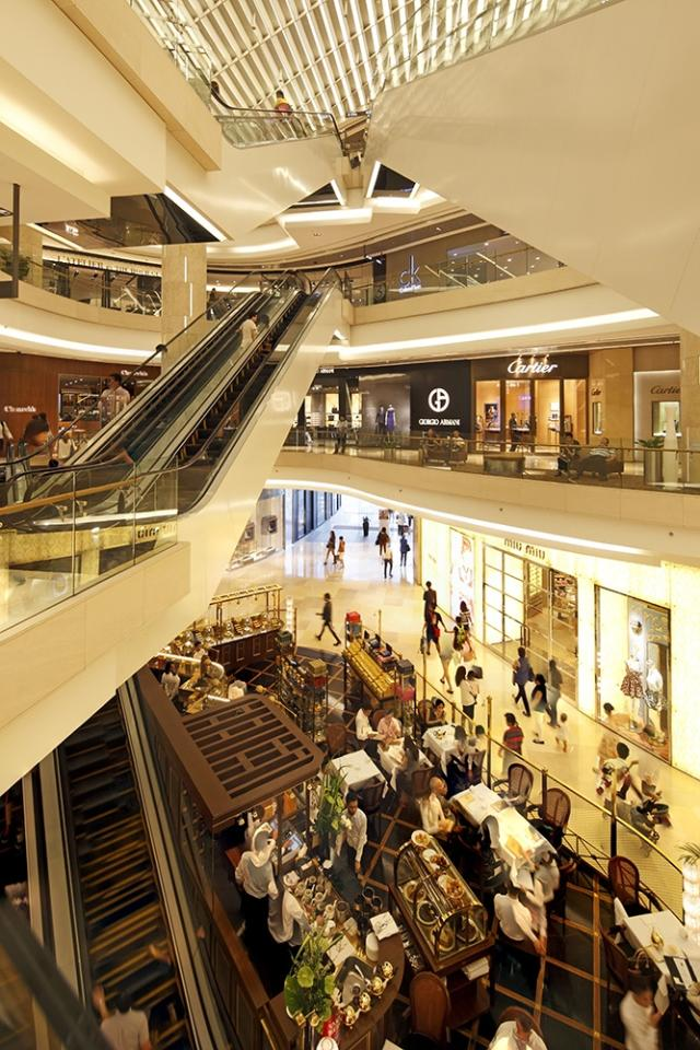 The top 5 malls to lounge in