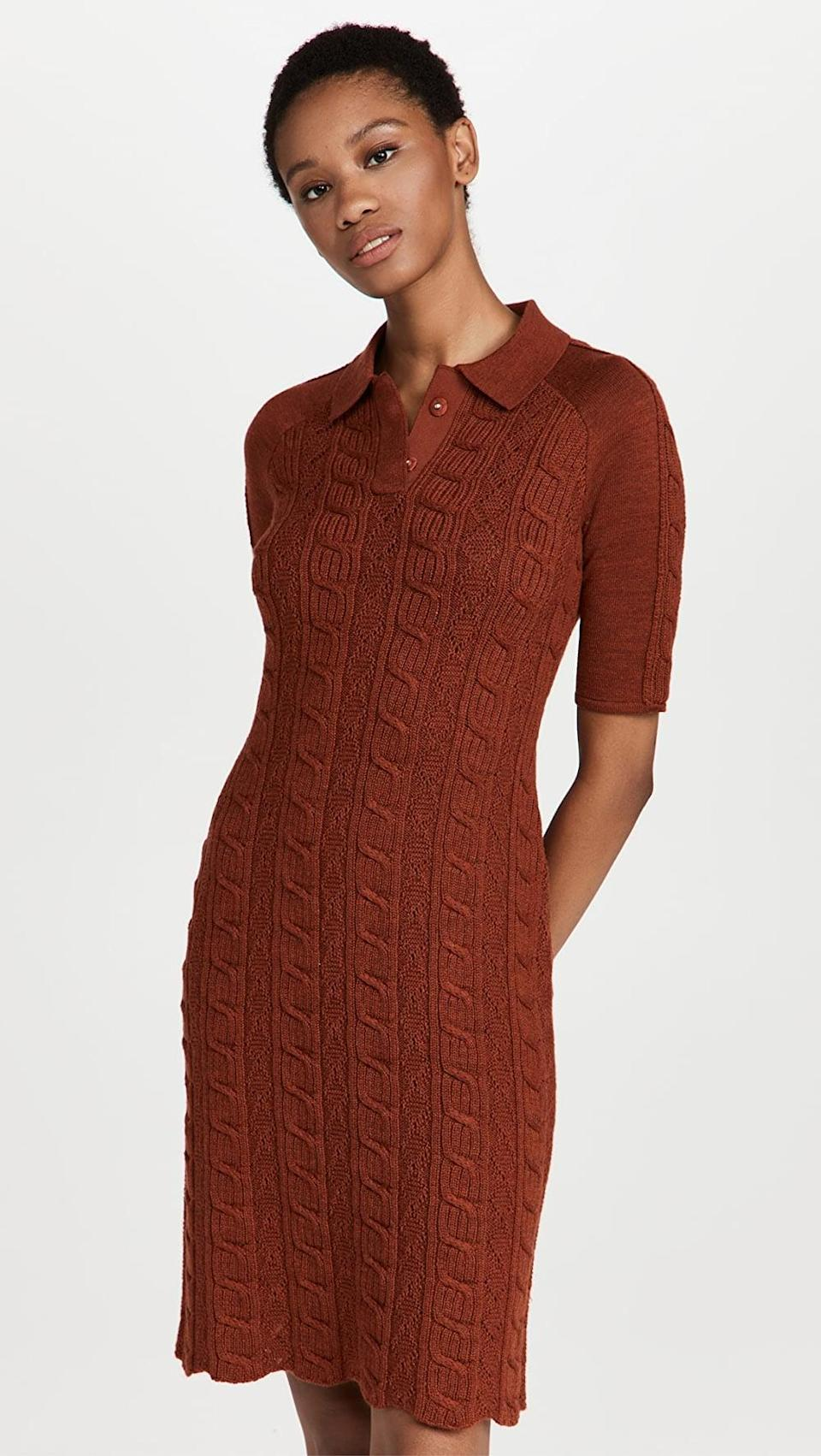 <p>Stay warm while looking stylish in this <span>Victor Glemaud Sweater Dress</span> ($650). It's an investment you'll love for years to come.</p>