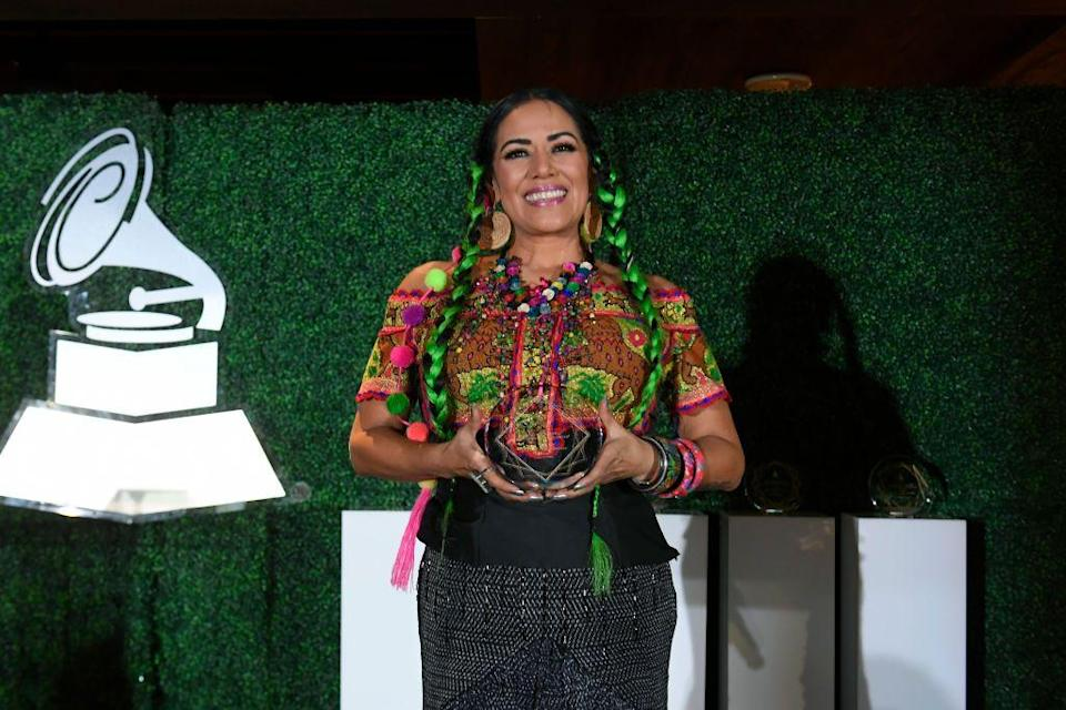 "<p><strong>Mixtec</strong></p><p>Mexican singer-songwriter Lila Downs has been blending traditional music with more contemporary pop stylings for decades, including <a href=""https://www.iica.int/en/press/news/mexican-singer-lila-downs-joins-iica-campaign-tribute-agrifood-chain-workers"" rel=""nofollow noopener"" target=""_blank"" data-ylk=""slk:singing in Indigenous languages"" class=""link rapid-noclick-resp"">singing in Indigenous languages</a> like Mixtec, Zapotec, Mayan, and Purépecha. Her inventive take on Native Mexican music has earned her several Latin Grammys and another Grammy for Best Regional Mexican Music Album on top of that.</p><p>Downs is of Mixtec origin, hailing from Oaxaca, Mexico. Her 2019 album, <em><a href=""https://www.latinousa.org/2019/05/21/liladowns/"" rel=""nofollow noopener"" target=""_blank"" data-ylk=""slk:Al Chile"" class=""link rapid-noclick-resp"">Al Chile</a>, </em>honored her Native culture as well as the lives of migrants and Mexican women.</p>"