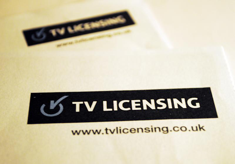 File photo dated 7/12/2012 of a TV License. The cost of the annual television licence fee will increase from �154.50 to �157.50 from April 1, the BBC has said.