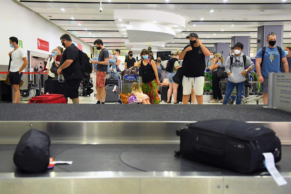 Passengers who flew on a number of east coast flights may have been exposed to the virus. Source: AAP