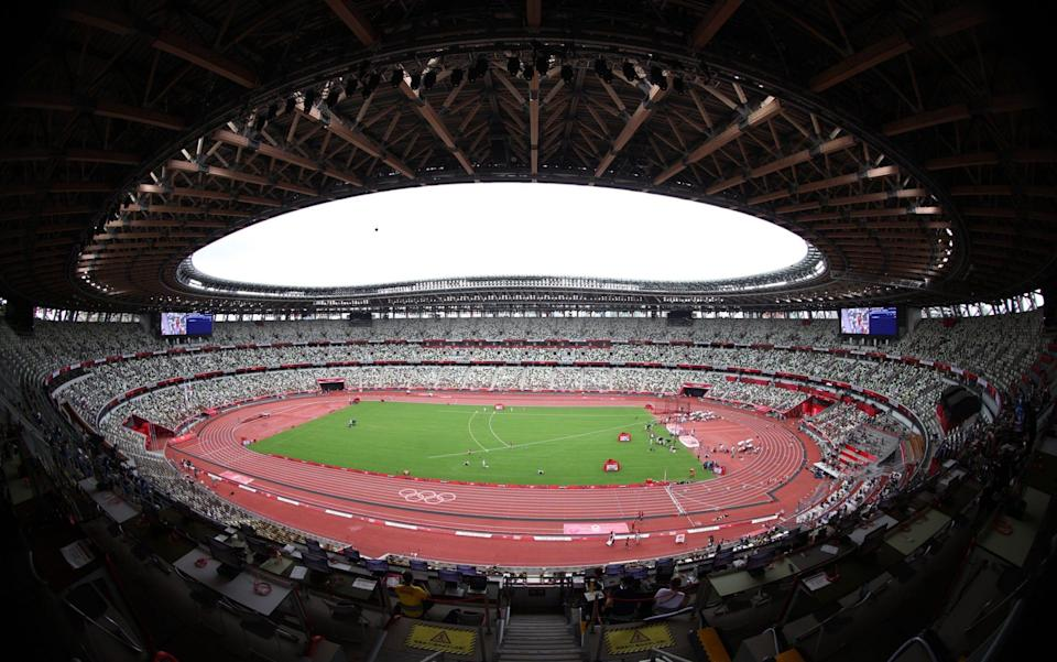 The view inside the stadium - REUTERS