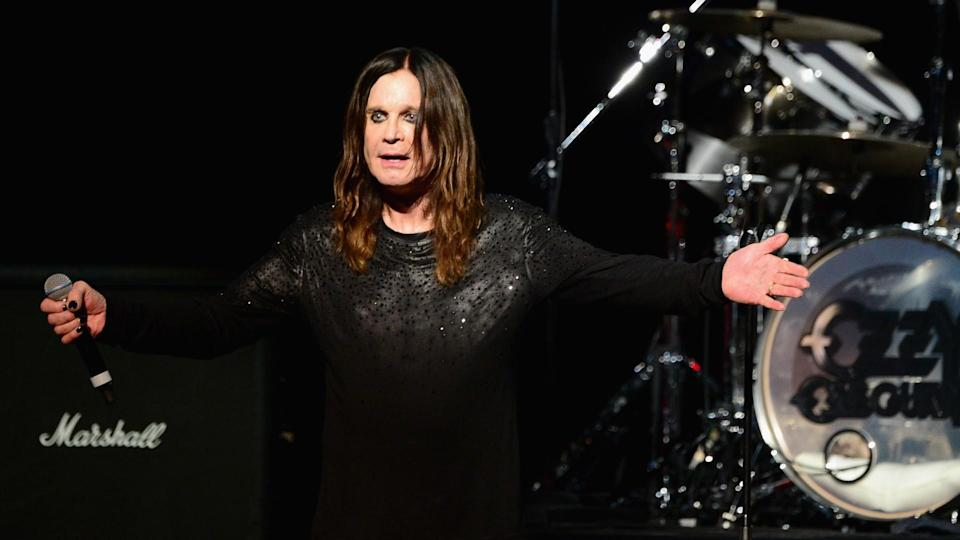 LOS ANGELES, CA - MAY 12:  Musician Ozzy Osbourne performs onstage at the 10th annual MusiCares MAP Fund Benefit Concert at Club Nokia on May 12, 2014 in Los Angeles, California.