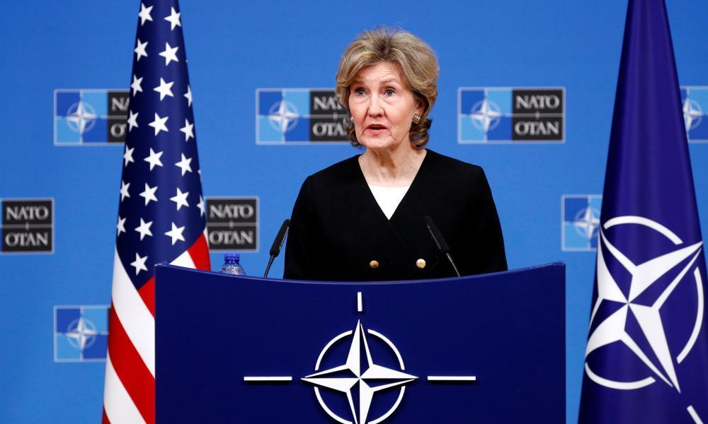 """<span class=""""element-image__caption"""">Kay Bailey Hutchison said: 'We would then be looking at a capability to take out a missile that could his any of our countries in Europe and hit America in Alaska.'</span> <span class=""""element-image__credit"""">Photograph: Francois Lenoir/Reuters</span>"""