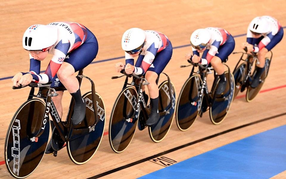 Team GB - GETTY IMAGES
