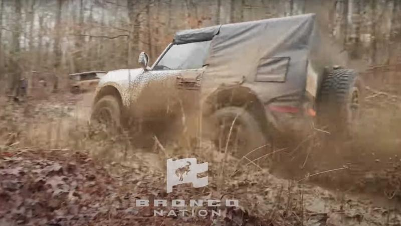 Ford Bronco Mud-Testing Lead