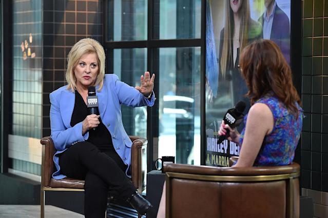 Nancy Grace speaking at Build Studio on June 7, 2018, in New York City. (Photo: Getty Images/Build)