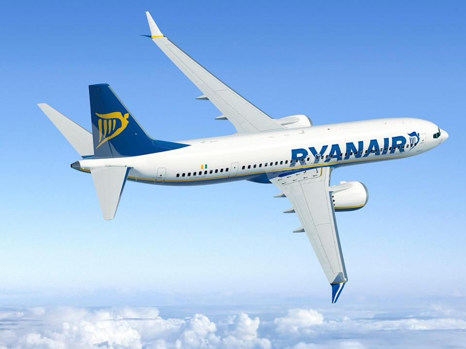 Flying in: the first Ryanair Boeing 737 Max is on its way from Seattle to Dublin (Ed Turner)