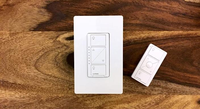 Control your smart home with this in-wall dimmer.