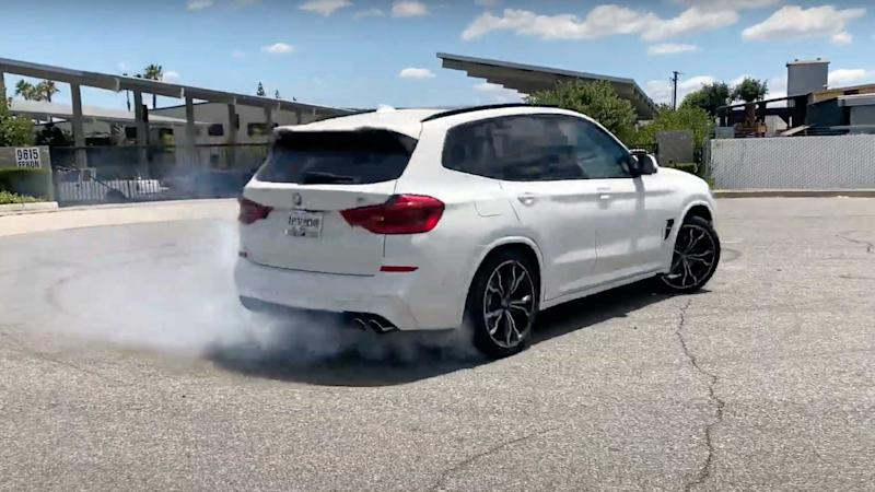 BMW X3 M Modified By Tuner Has Pure Rear-Wheel-Drive Mode