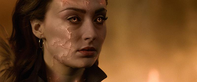 Sophie Turner in Dark Phoenix (Credit: Fox)